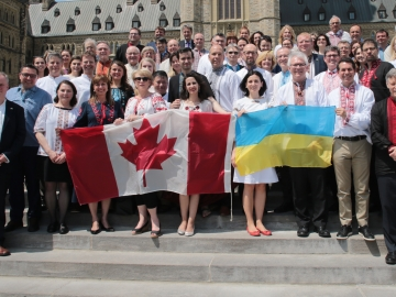 Marking International Vyshyvanka Day on the Hill - May 18, 2017