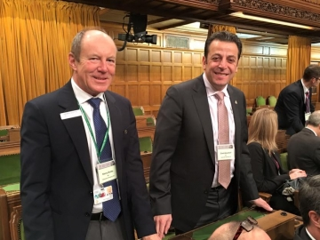 House of Commons Chambers with MP Ziad Aboultaif