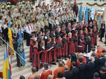 Commemoration of the Ukrainian Holodomor at Edmonton City Hall