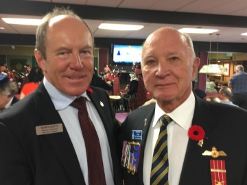 Remembrance Day at the Norwood Legion