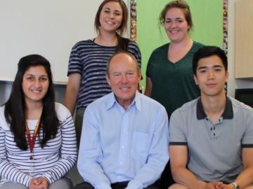 Visiting the ASSIST Community Centre a Canada Summer Jobs Recipient