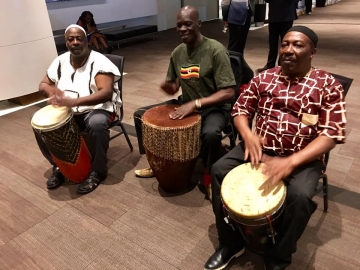 Musicians at the Africa Day Gala - June 17 2017