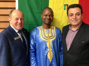 At Mali Independence  Day celebrations - September 23, 2018