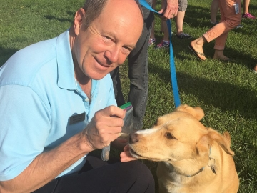 At Pets in the Park - Walk or Fun Run run by the Edmonton Humane Society - June 24, 2018