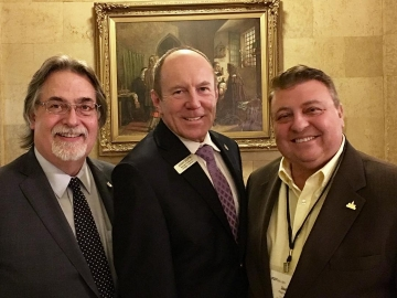 At the Federation of Canadian Municipalities reception - Nov 22, 2017