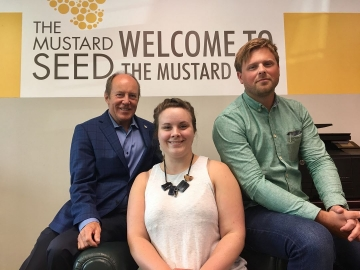 At the Mustard Seed Community Support Centre - August 1, 2018
