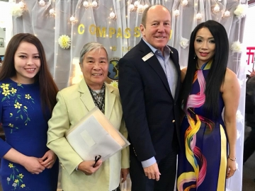 Attending a fundraiser for Marguerite of Universal Charity Society - Helping in Vietnam. - Saturday April 21, 2018
