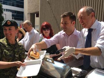 BBQ Fundraiser at the Lord Elgin -Kerry Diotte & Matt Jeneroux, MP