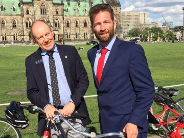 Bike Day on Parliament Hill