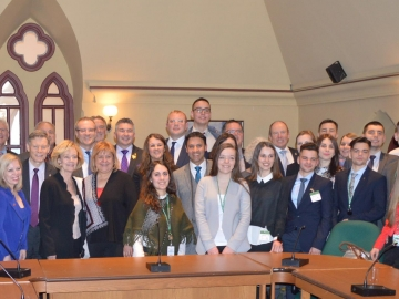 Canada-Ukraine Parliamentary Friendship Group Executive & Canda-Ukraine Parliamentary Interns