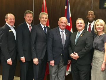 Executive of the Canada - United Kingdom Interparliamentary Association - April 4, 2017