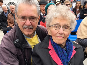 Celebration of Ukraine's 25th Anniversary of independence at Churchill Square - Gene Zwozdesky