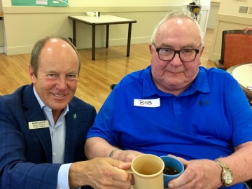 Coffee visit at the Kipnes Centre for Veterans - Sept. 22, 2017 4