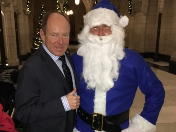 Conservative Santa
