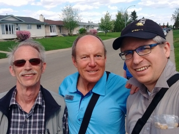 Door-knocking in the Balwin area with great volunteers - May 21, 2017 3