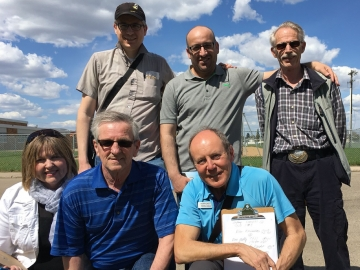 Door-knocking in the Balwin area with great volunteers - May 21, 2017 4