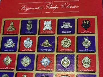 At the Edmonton Gun Show 2016 - Regimental Badge Collection