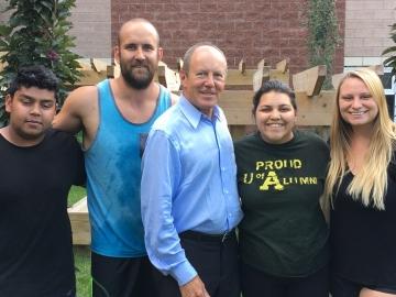 Visiting the Edmonton Inner City Children's Program a Canada Summer Jobs Recipient