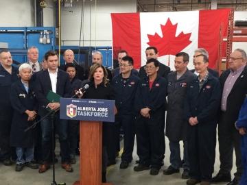 Alberta Jobs Taskforce Announcment
