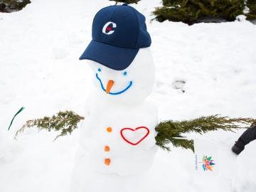 Participaction - Snowman Building Challenge