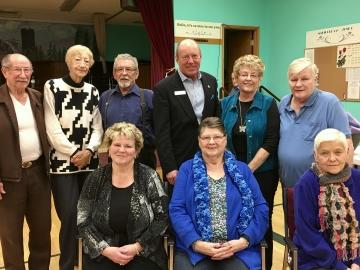 Celebrating birthdays at the North West Senior's Society