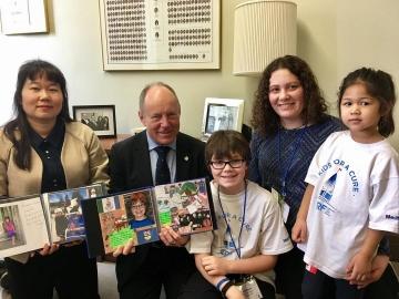 Juvenile diabetes ambassadors