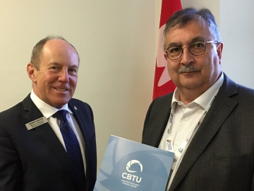 Kerry Diotte & Barry Pruden of the Canadian Building Trades Unions