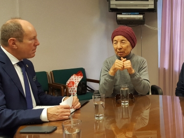 Meeting with Ayshe Seytmuratova, Anton Sestritsyn, Rustem Irsaev and Elvira Maksudova to discuss Bill C-306