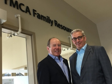 Meeting with Nick Parkinson CEO of YMCA of Northern Alberta - April 3, 2018