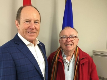 Meeting with University of Alberta Board of Governors Chair Michael Phair - Oct 27, 2017