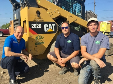 Meeting with the SummJils Landscaping Supply Ltd. who hire students under the Canada Summer Jobs program - August 2, 2018