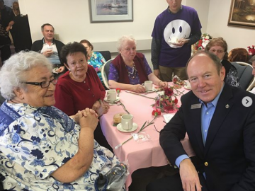 Mother's Day Tea at St. Josaphat's Seniors Residence - May 12, 2018