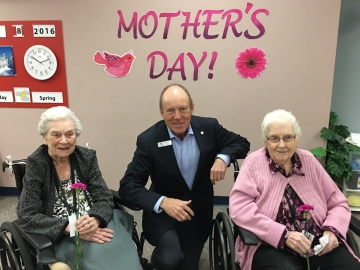 Mother's Day with Shepherd's Care residents