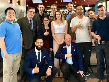 Networking event with young Conservatives at MacEwan U - April 28, 2017