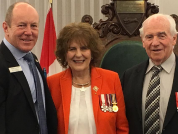 New Year's Levee hosted by Lieutenant Governor Her Honour Lois Mitchell and His Honour Doug Mitchell