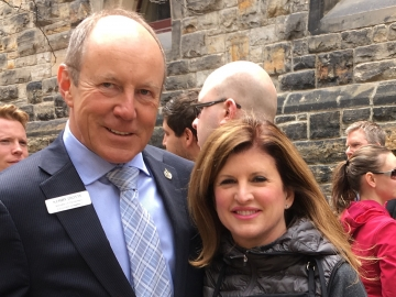 BBQ Fundraiser for Fort McMurray on Parliament Hill - Kerry Diotte with host Rona Ambrose