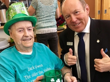 St Patrick's Day Party at Kipnes Centre for Veterans - Mar. 16, 2017