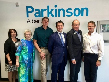 Touring the Parkinsons Centre - August 21, 2018