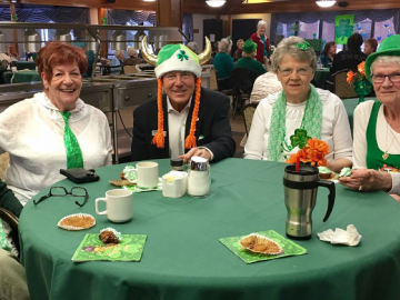 Virginia Park Lodge's St Patrick's Day event - Mar. 17, 2017