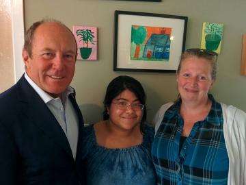 Visiting Amity House - July 12, 2017