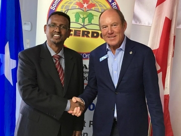 Visiting the Somali Canadian Education + Rural Development Organization (SCERDO) - July 26, 2017