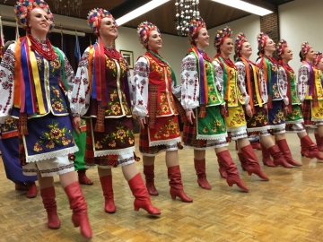 Vohon Ukrainian Dance Group - Volunteer Appreciation and 70th Anniversary Banquet for Norwood Legion Branch No. 178
