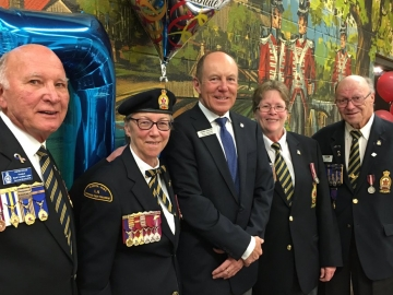 Volunteer Appreciation and 70th Anniversary Banquet for Norwood Legion Branch No. 178
