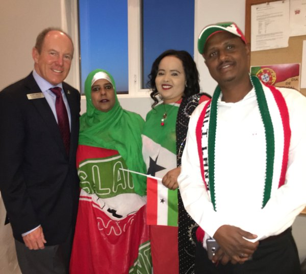 Somaliland 25th anniversary of independence celebrations
