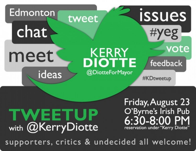 Tweetup & Meetup with @KerryDiotte on Whyte