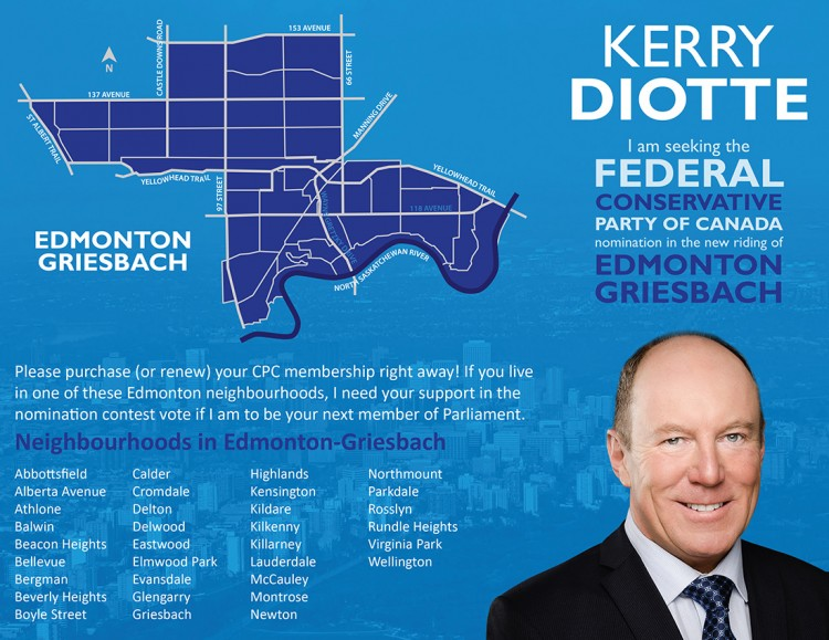Kerry Diotte for Edmonton-Griesbach Brochure