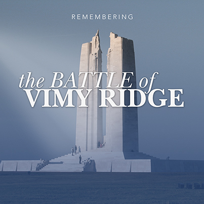 The Battle of Vimy Ridge