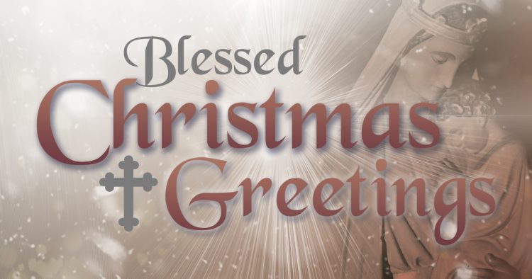 Blessed Christmas Greetings | Kerry Diotte