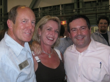 Kerry Diotte, Clare & Jason Kenney, MP