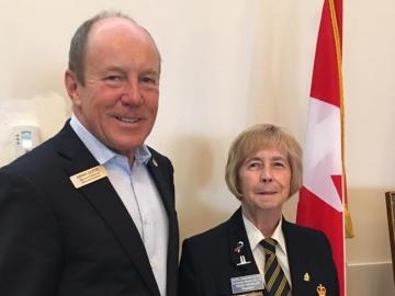 70th Anniversary Edmonton Ex- Service Women's Branch - June 17, 2017